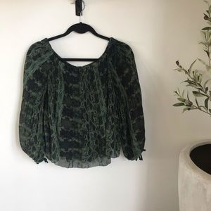 Wilfred Talence Blouse From Aritzia
